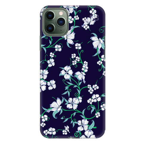 Dogwood Floral Pattern Apple Iphone 11 Pro Max Cover