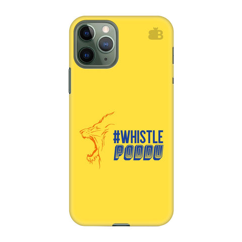 Chennai Super Kings Apple Iphone 11 Pro Cover