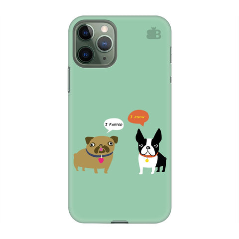 Cute Dog Buddies Apple Iphone 11 Pro Cover
