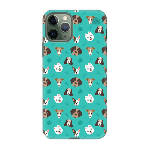 Doggie Pattern Apple Iphone 11 Pro Cover