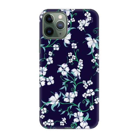 Dogwood Floral Pattern Apple Iphone 11 Pro Cover