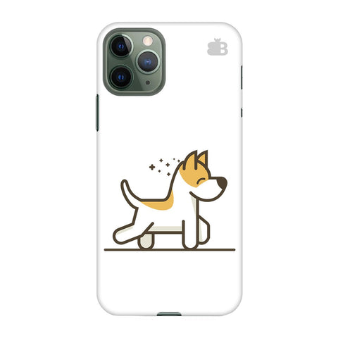 Happy Puppy Apple Iphone 11 Pro Cover