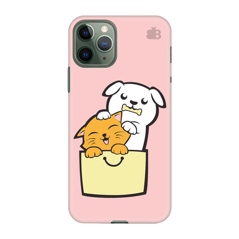 Kitty Puppy Buddies Apple Iphone 11 Pro Cover