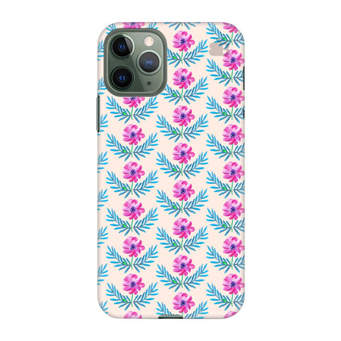 Pink Watercolor Pattern Apple Iphone 11 Pro Cover