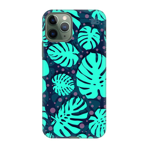 Tropical Leaves Pattern Apple Iphone 11 Pro Cover