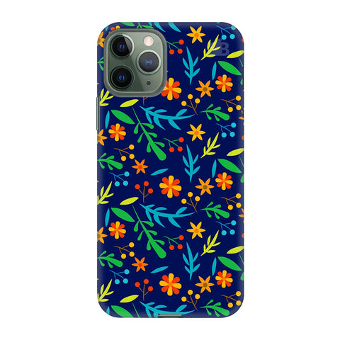 Vibrant Floral Pattern Apple Iphone 11 Pro Cover