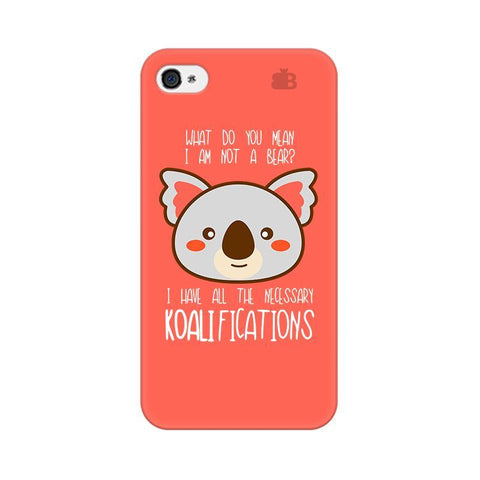 Koalifications Apple iPhone 4 Phone Cover