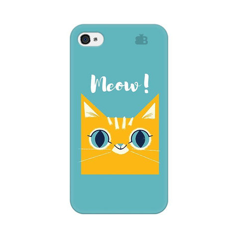 Meow Apple iPhone 4 Phone Cover