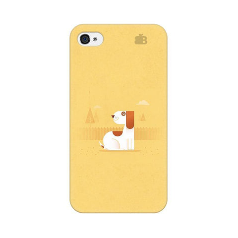 Calm Dog Apple iPhone 4s Phone Cover