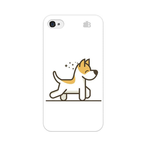 Happy Puppy Apple iPhone 4s Phone Cover