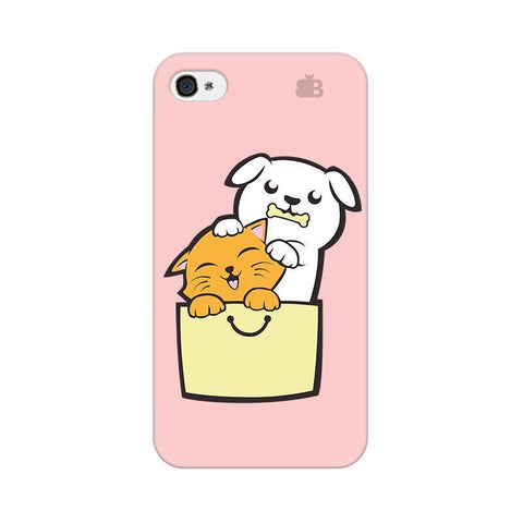 Kitty Puppy Buddies Apple iPhone 4s Phone Cover