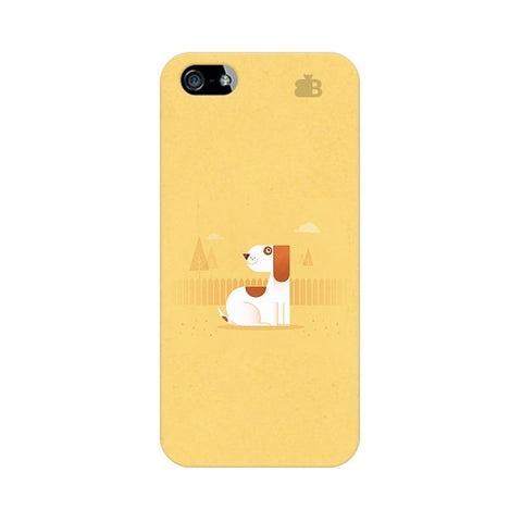 Calm Dog Apple iPhone 5 Phone Cover