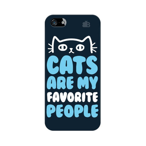 Cats favorite People Apple iPhone 5 Phone Cover