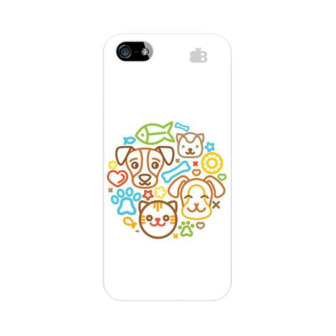 Cute Pets Apple iPhone 5 Phone Cover