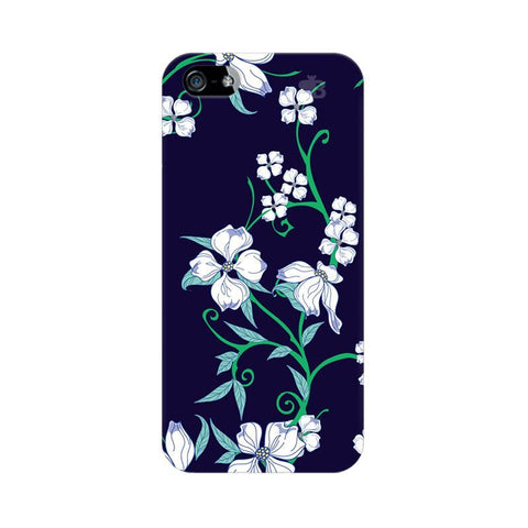 Dogwood Floral Pattern Apple iPhone 5 Phone Cover