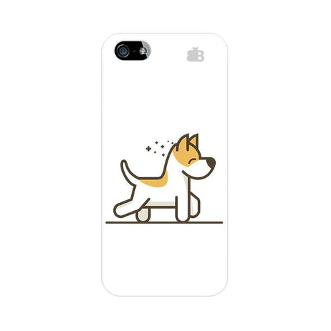 Happy Puppy Apple iPhone 5 Phone Cover