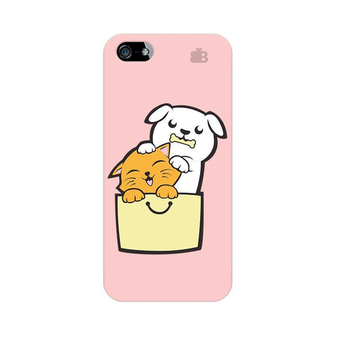Kitty Puppy Buddies Apple iPhone 5 Phone Cover