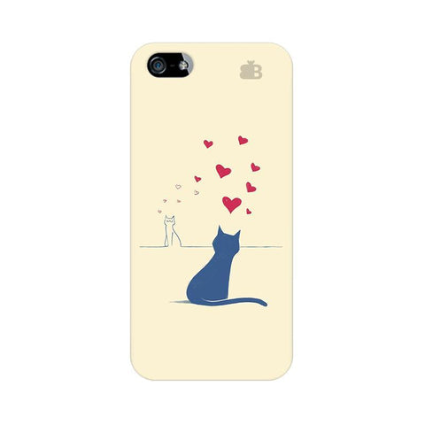 Kitty in Love Apple iPhone 5 Phone Cover
