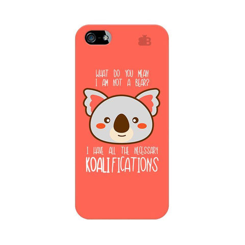 Koalifications Apple iPhone 5 Phone Cover