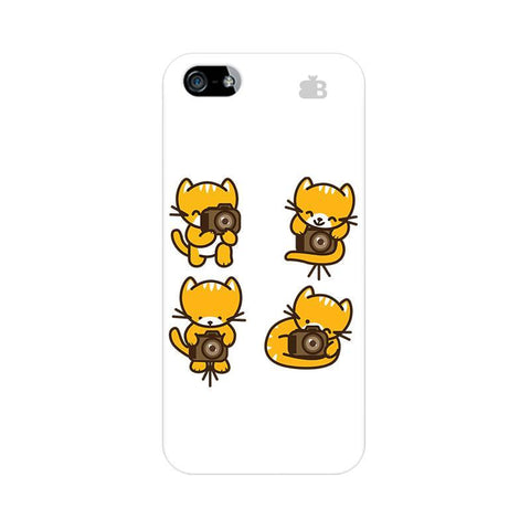Photographer Kitty Apple iPhone 5 Phone Cover