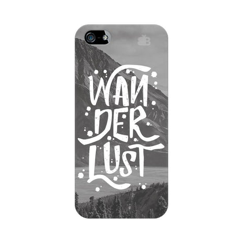 Wanderlust Apple iPhone 5 Phone Cover