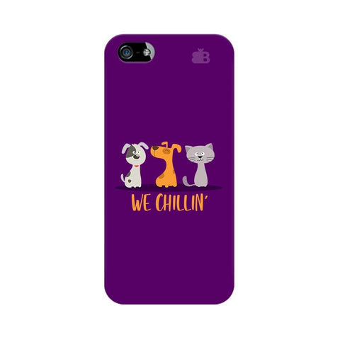 We Chillin Apple iPhone 5 Phone Cover