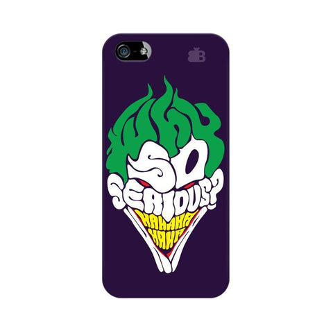Why So Serious Apple iPhone 5 Phone Cover