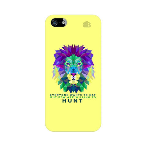 Willing to Hunt Apple iPhone 5 Phone Cover