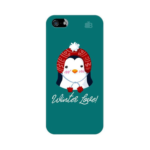Winter Love Apple iPhone 5 Phone Cover