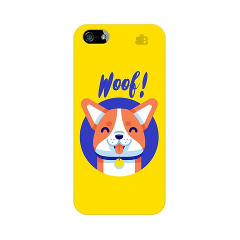 Woof Apple iPhone 5 Phone Cover