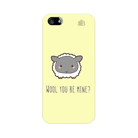 Wool Apple iPhone 5 Phone Cover