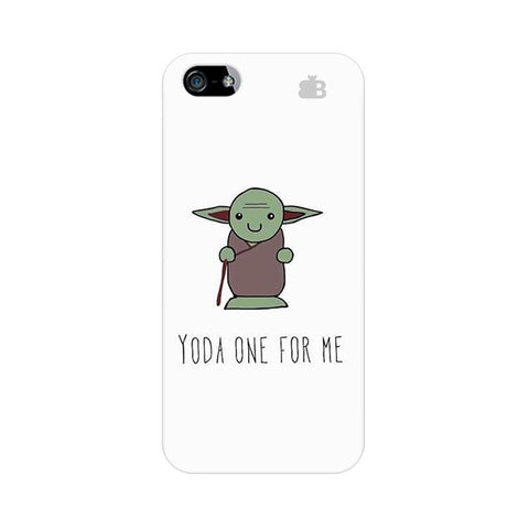 Yoda One Apple iPhone 5 Phone Cover