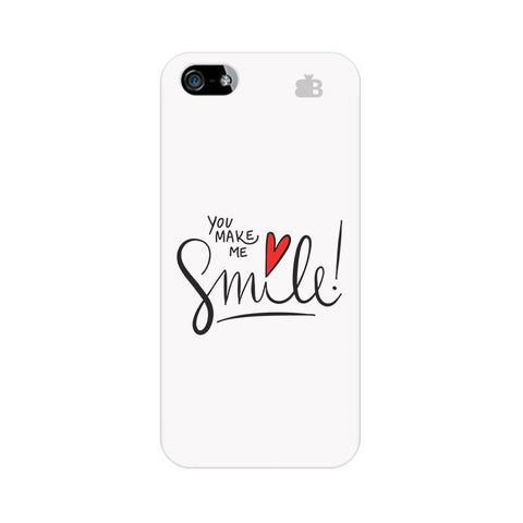 You make me Smile Apple iPhone 5 Phone Cover