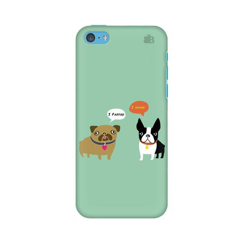 Cute Dog Buddies Apple iPhone 5c Phone Cover