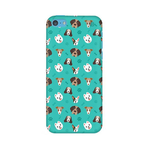 Doggie Pattern Apple iPhone 5c Phone Cover