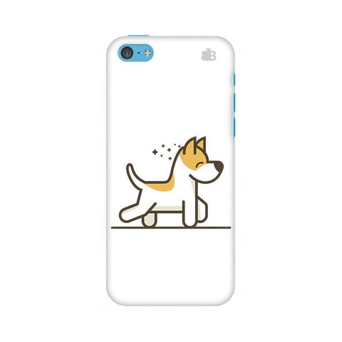 Happy Puppy Apple iPhone 5c Phone Cover