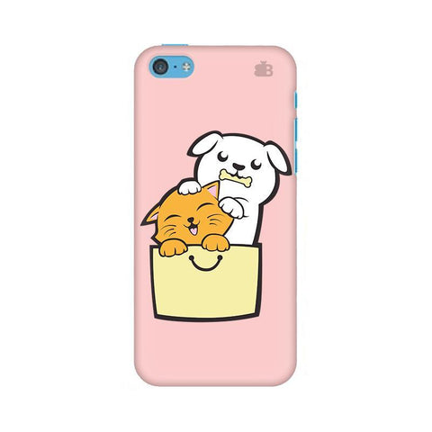 Kitty Puppy Buddies Apple iPhone 5c Phone Cover