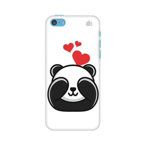 Panda In Love Apple iPhone 5c Phone Cover