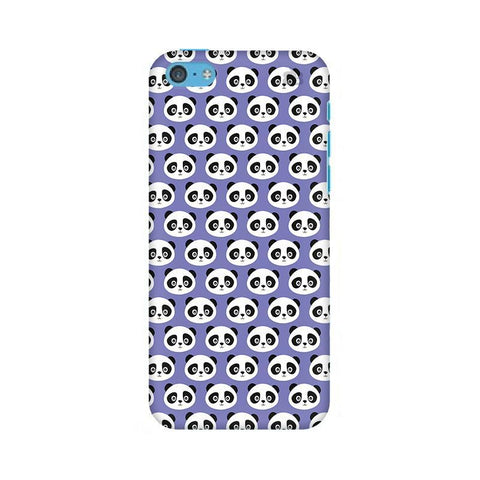 Panda Pattern Apple iPhone 5c Phone Cover