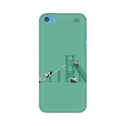 Pandas Playing Apple iPhone 5c Phone Cover