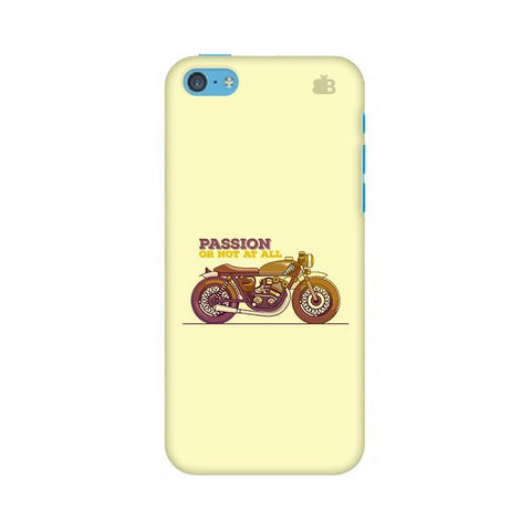 Passion for Motor Apple iPhone 5c Phone Cover