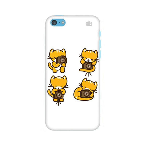 Photographer Kitty Apple iPhone 5c Phone Cover