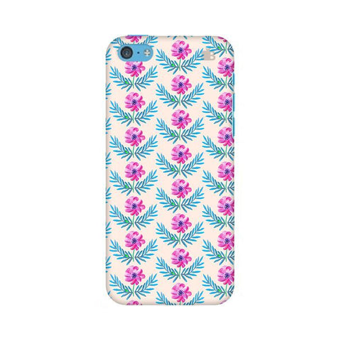 Pink Watercolor Pattern Apple iPhone 5c Phone Cover