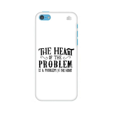 Problem of the Heart Apple iPhone 5c Phone Cover