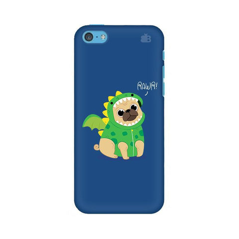 Pug-Rawr Apple iPhone 5c Phone Cover
