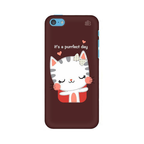 Purrfect Day Apple iPhone 5c Phone Cover