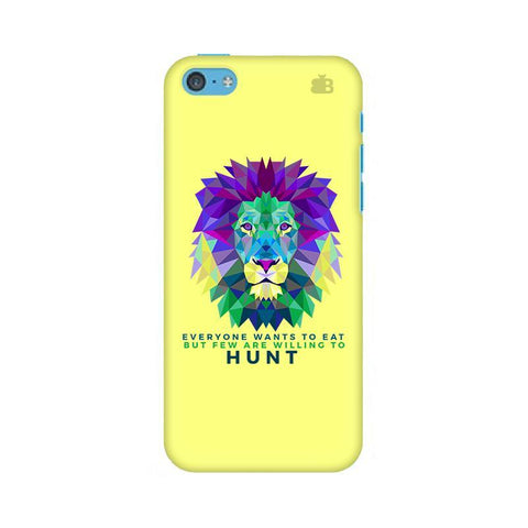 Willing to Hunt Apple iPhone 5c Phone Cover