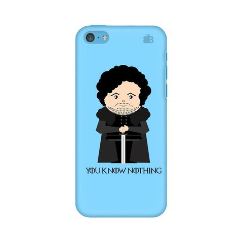 You Know Nothing Apple iPhone 5c Phone Cover