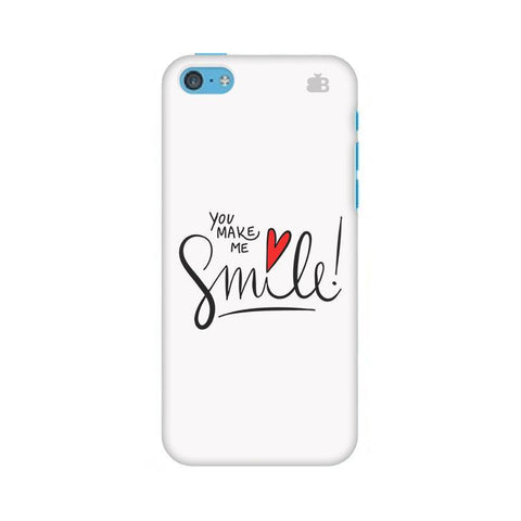 You make me Smile Apple iPhone 5c Phone Cover