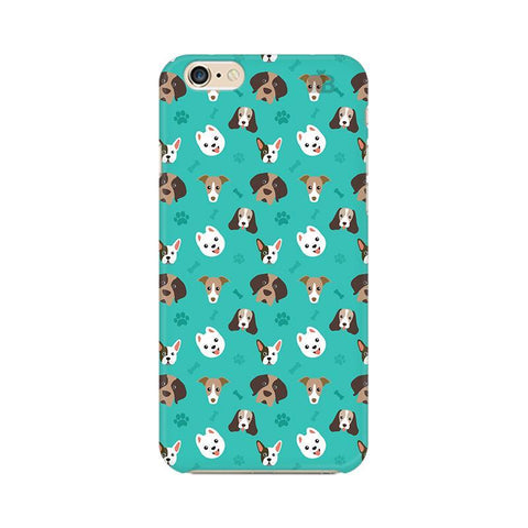 Doggie Pattern Apple iPhone 6 Phone Cover